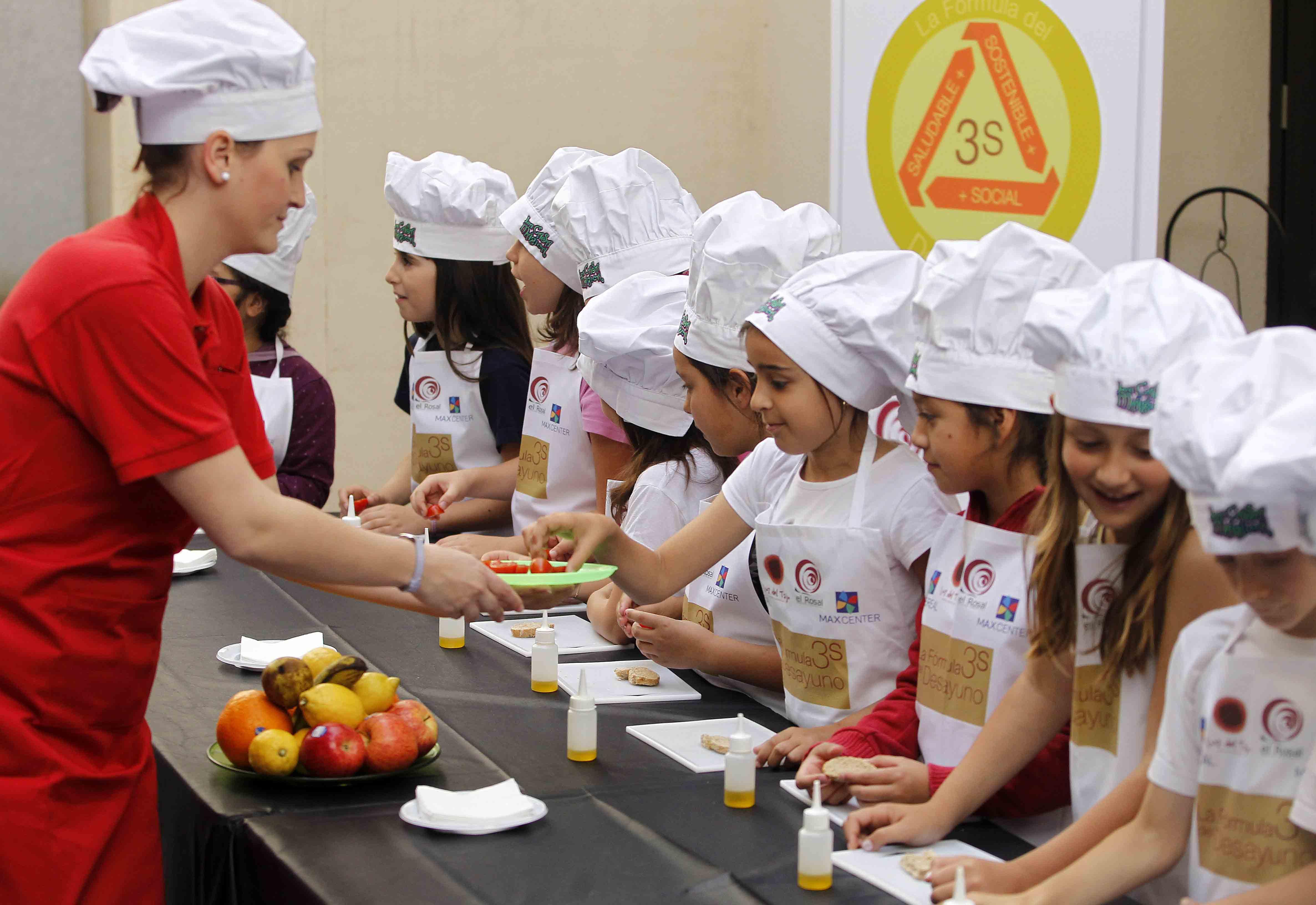 Desayuno 3s instituto m dico europeo de la obesidad for Proyecto cocina infantil