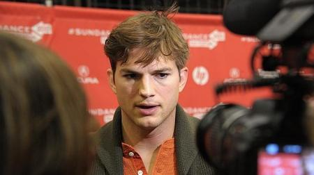 Ashton Kutcher, AFP
