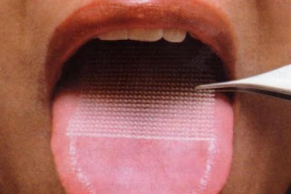Parche en la lengua