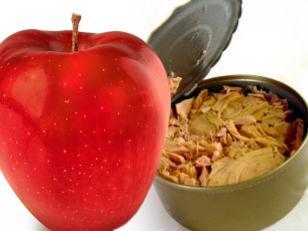 la dieta de la manzana y el atún