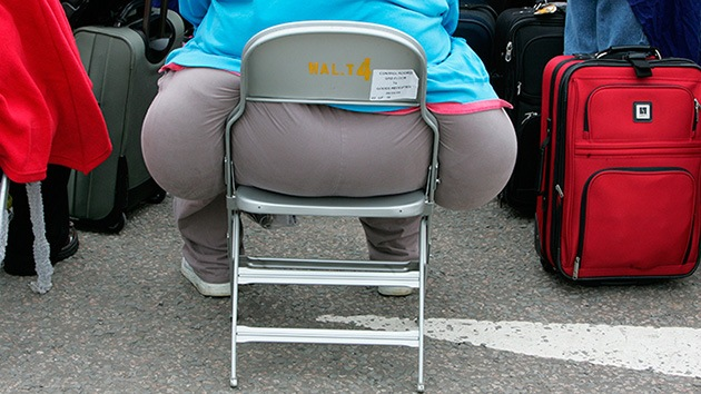 Obeso en una silla, Reuters by Toby Melville