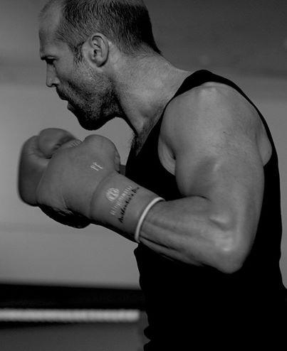 Jason Statham entrenando