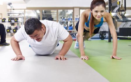 el sobrepeso dificulta el ejercicio