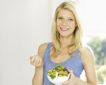Gwyneth Paltrow hace dieta sin carbohidratos