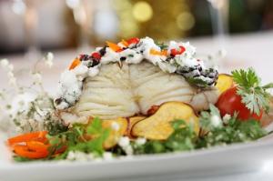 bacalao en Navidad bajo en calorías
