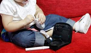 diabetes I en niños