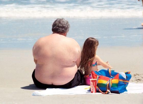 la obesiad en personas mayores, foto El Pais