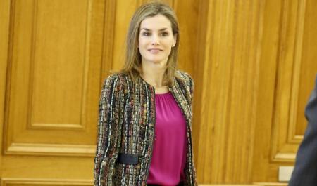 La Reina Letizia, foto Gtres, La Razón