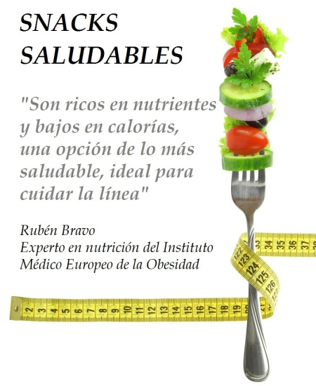 Snacks saludbles by Ruben Bravo