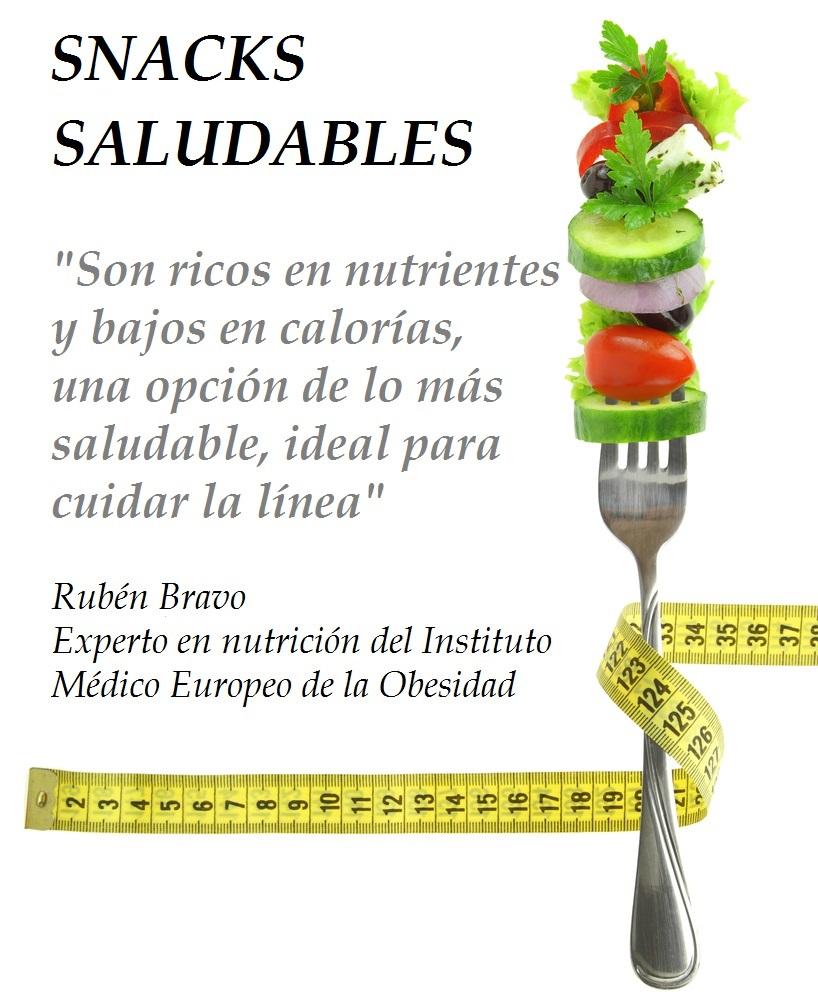 Snacks saludbles by Ruben Bravo