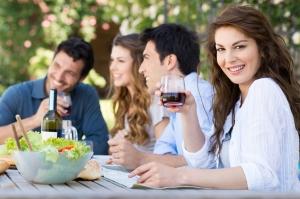 La Dieta de los Días Alternos favorece las comidas sociales en el fin de semana