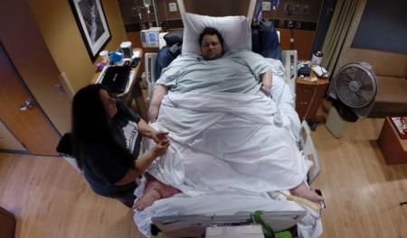 fallece el hombre más obeso del mundo, Revistamercado.do