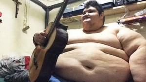 Juan Pedro, el hombre más obeso del mundo