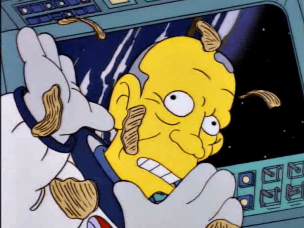 Todo el mundo sabe que los astronautas se alimentan a base de patatas fritas.